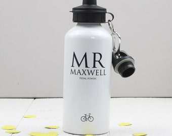 Personalised 'Cyclist' Water Bottle