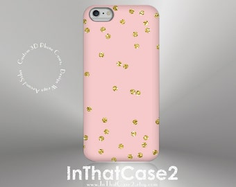 "1260 // iPhone 6 Case iPhone 6 Plus Case iPhone 5 Case iPhone 5s Case Samsung Galaxy S5 Galaxy S6 ""NOT REAL GLITTER"" gold confetti tuquoise"