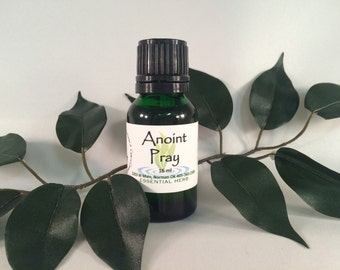ANOINTING OIL Essential Oil Blend Prayer Healing Laying Hands Pure Natural