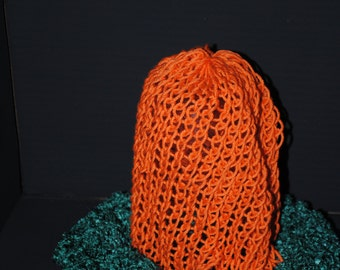 Hand Knit Slouchy Beanie Hat