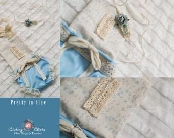 Newborn romper; Newborn lace romper