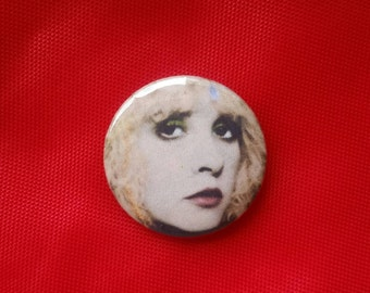 "Stevie Nicks 1"" Pin"