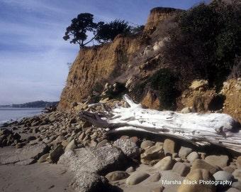 "Santa Barbara Photography, ""Butterfly Beach, Santa Barbara"", Santa Barbara Beach Print, Beach Decor, Beach Wall Art, Beach Lover Gift"