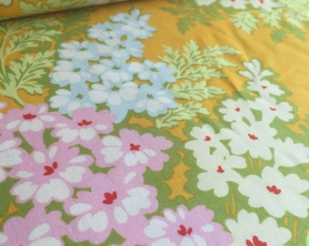 Picnic Bouquet Tangerine Heather Bailey Nicey Jane Fabric