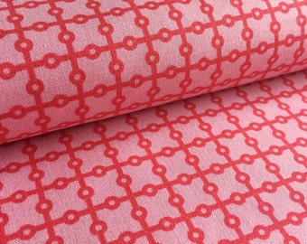 Dottie Grid PINK from Whimsy by Pillow and Maxfield for Michael Miller Fabric