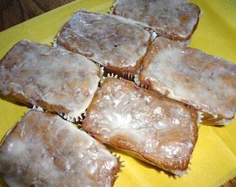 Soft & Fresh Homemade Glazed Strawberry Bread Mini Loaves (10 Loaves)