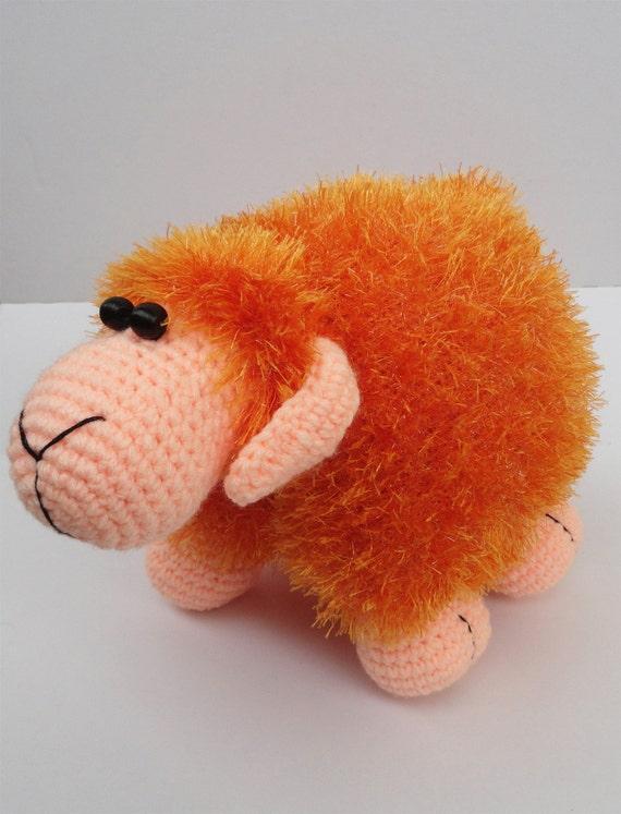 Amigurumi Stuffed Animals : Crochet sheep Crochet amigurumi Crochet lamb toy Stuffed toy