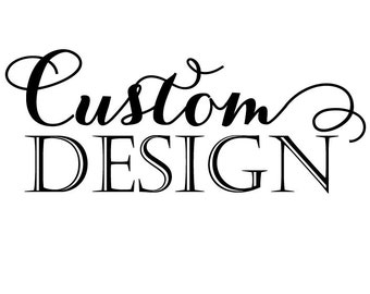 Custom Cake Topper ****SANDRA*****