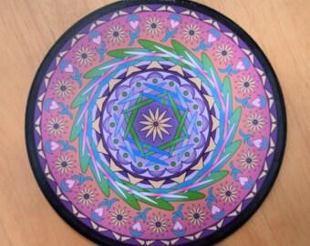 "8"" Mandala Wall Art - ""Catherine"""