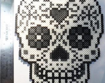 Sugar Skull Perler
