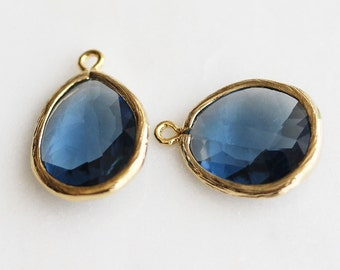 A2-186-G-MO] Montana / 15 x 20mm / Gold plated / Pendant /  1 piece(s)