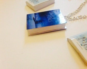 The lovely bones book necklace