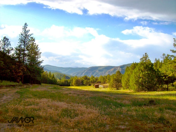 Philmont Scout Ranch Harlan Mountain Valley