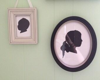 Custom profile painting