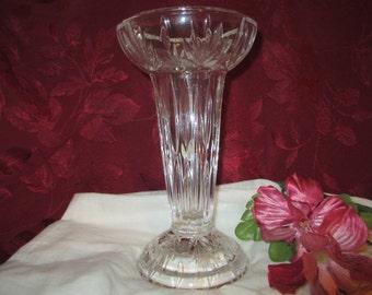 Vintage Princess House Highlights Vase or Candle Holder Made in Germany