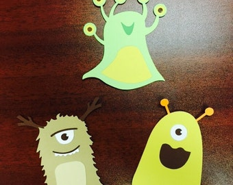Monster cutouts