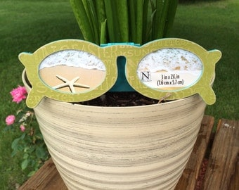 Sunglasses Picture Frame. Wallet picture frame