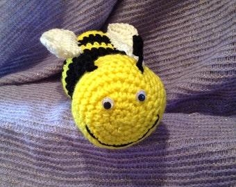Bumble Bee Crochet Plush