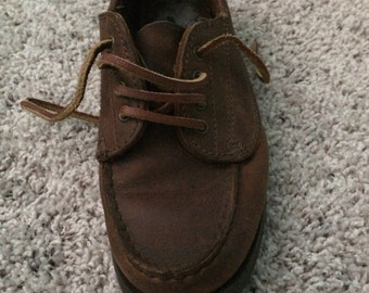 Bass Pro Leather Boat shoes