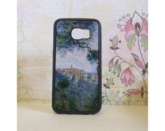 Bordighera (Monet) - Rubber Samsung Galaxy S3 S4 S5 S6 Case
