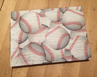 MADE TO ORDER: Baseball Scorecard Book