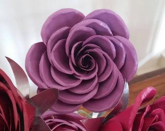 Metal Rose/ Forever Rose/Lavendar /Mauve /Purple /Mother's Day