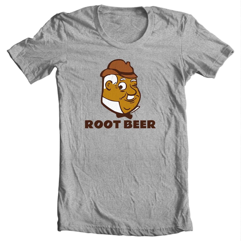 Graf Root Beer Vintage Bottle Cap T-shirt