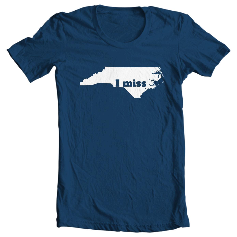 North Carolina T-shirt - I Miss North Carolina - My State North Carolina T-shirt