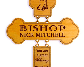 Bishop Appreciation Gift, Thanksgiving Gift, Gift to the Deacon / Bishop / Priest, Pastoral Anniversary, Church appreciation to Pastor.