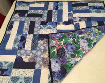 Blues Baby or Lap Quilt