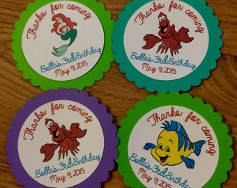 Mermaid Favor Tags (10 per set)