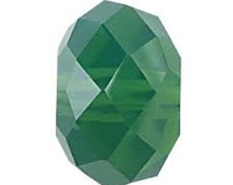 Swarovski Crystal Briolette Beads 5040 - 6mm 8mm - Palace Green Opal