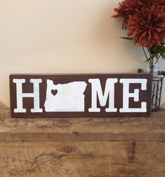 Home Sign / Reclaimed Wood Home Decor / Wood By TheRusticEarth