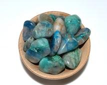 Small quantum quattro silica, Rare tumblestone crystal one piece