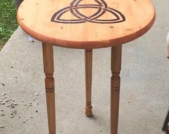Celtic Trinity Knot Table