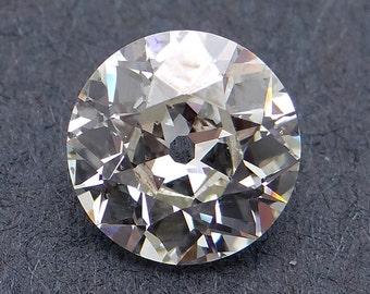 GIA Certified Loose 1.17ct Round European Cut Diamond L VS2 6.84 - 6.87 x 3.72mm