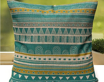 Vintage Flower Geometric Cushion Covers Cushion Pillow Covers