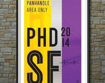 SF Muni Poster: Panhandle