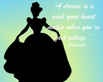 Disney's Cinderella, a delicate and cute design.