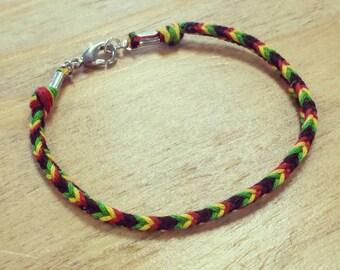 Woven Rasta Bracelet