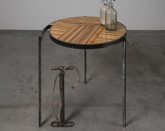 Table Vintage Signed