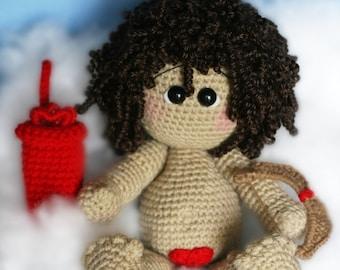 Elfin Thread Cupid Amigurumi PDF Crochet Pattern (Doll Pattern)
