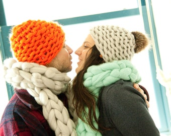 Tuque FLYING -L- Flying Winter Hat -L- 100% mérinos - 19 microns - Atelier4920 -