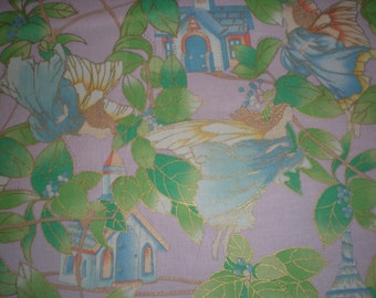 Fairies and Cottages - Shamash & Sons Pattern #4242M
