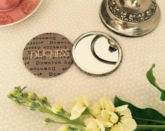 Downton Abbey duchess pocket mirror