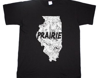 Illinois Prairie State Chicago Windy City T shirt