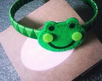 Frogger headband