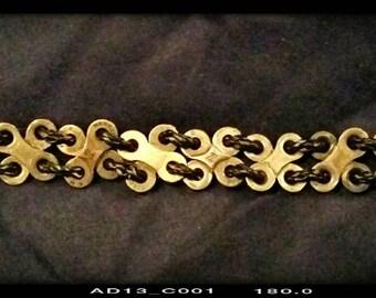 Bike Chain Link Bracelet