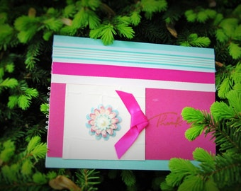 Thank You Handmade, Paper Greeting Card
