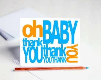 Thank You Cards Baby Shower Thank You Cards Baby Thank You Cards Baby Thank You Notes Thank You Baby Shower Cards Thank You Cards Set